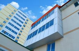 Balkonverglasungssystem ALT100