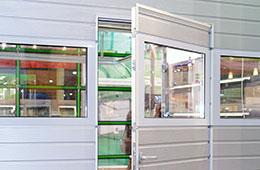 Built-in Wicket Door